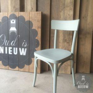 Cafestoel in kleur | Oud is Nieuw