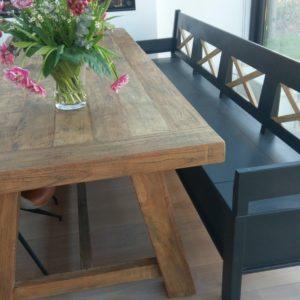 Eetkamertafel op maat gemaakt | Oud is Nieuw
