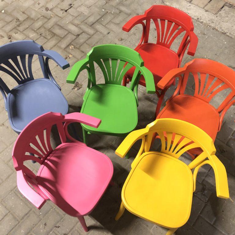 Armleuning stoel