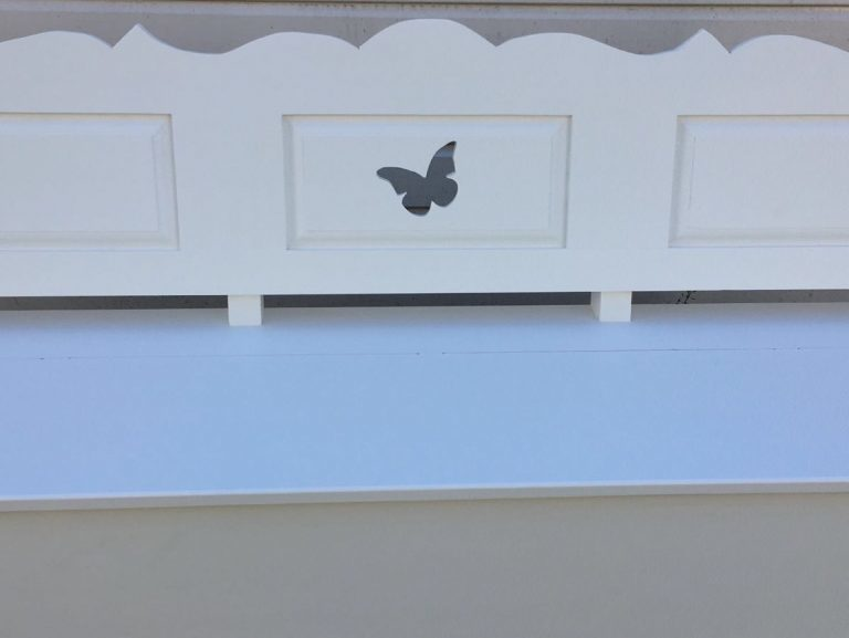 Vlinder klepbank