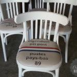 Cafestoel postzak
