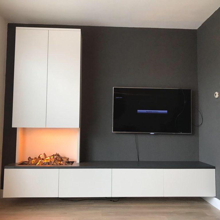 Tv meubel haard
