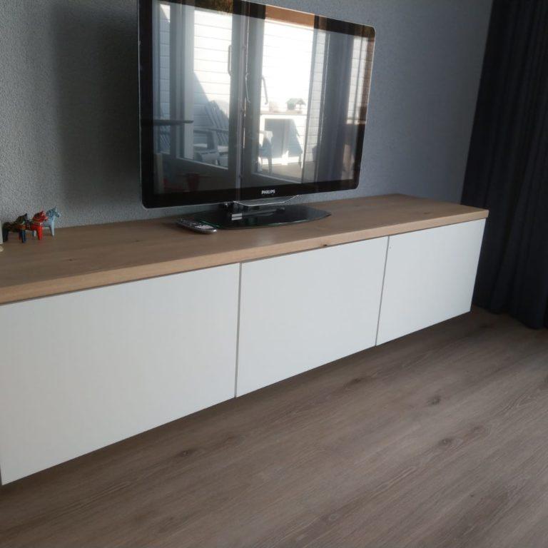 Tv meubel eiken zwevend
