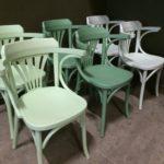 Cafestoel antwerpen in kleur