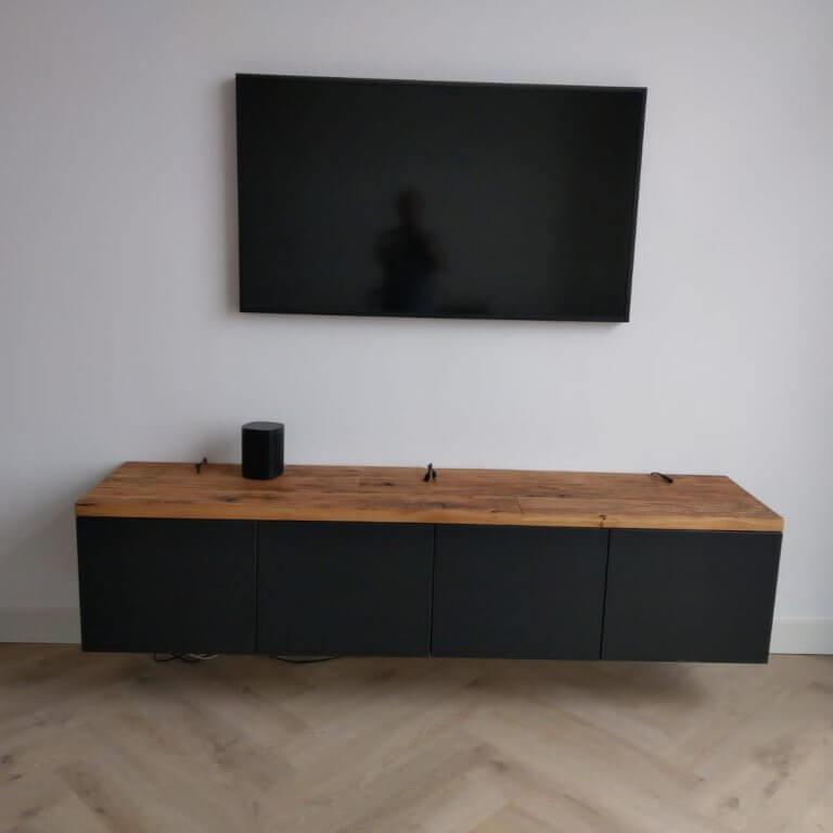 Tv meubel wagon hout
