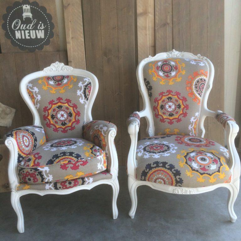Queen ann fauteuil