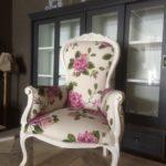 Bloem fauteuil